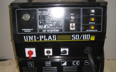 Uniplas 50/80 Plasma Cutting Machine 415V, Long Gun