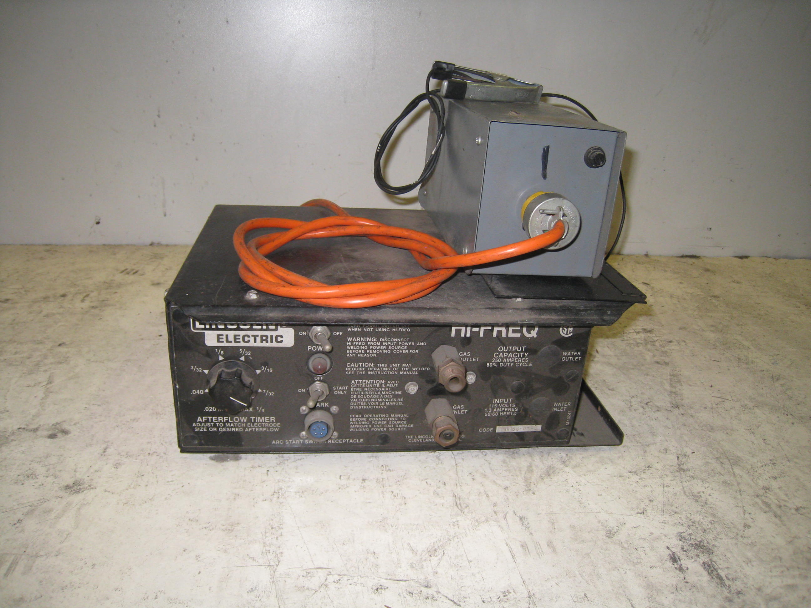 USED Lincoln 240v Hi Frequency Unit